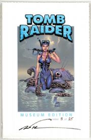 Tomb Raider #15 Museum Edition COA Ltd 25 Jay Company Top Cow comic book